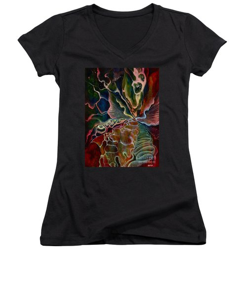 The First Sound Women's V-Neck T-Shirt