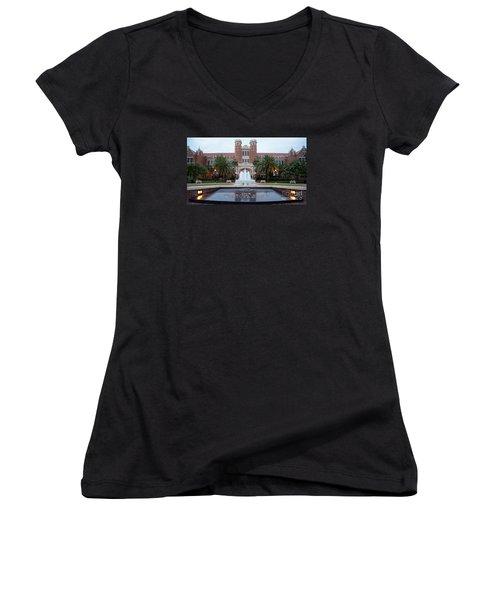 The Florida State University Women's V-Neck T-Shirt