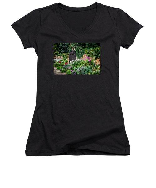 The Garden Gate Women's V-Neck T-Shirt