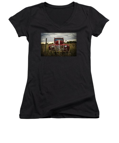 The Good Old Days Women's V-Neck (Athletic Fit)