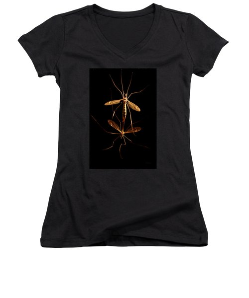 The Hook Up Women's V-Neck (Athletic Fit)