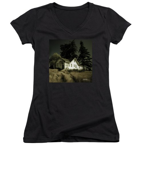 The House Women's V-Neck T-Shirt (Junior Cut)