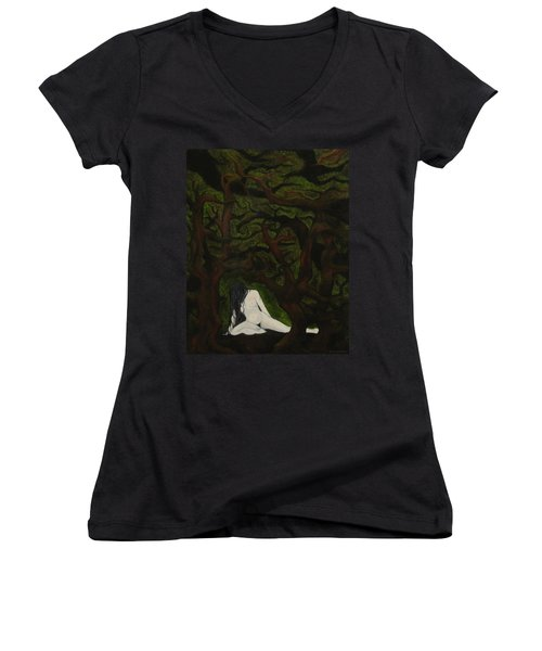 The Hunter Is Gone Women's V-Neck