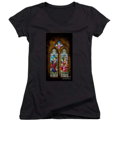 The Lambs Women's V-Neck (Athletic Fit)