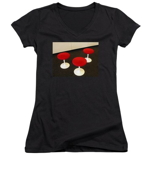 The Lobby Women's V-Neck (Athletic Fit)