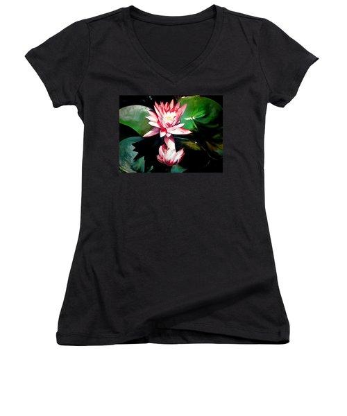 The Lotus Women's V-Neck