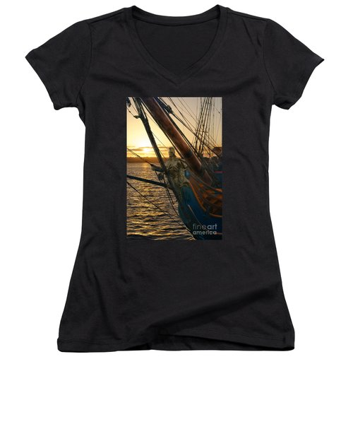 The Majesty Of The Ocean Women's V-Neck T-Shirt