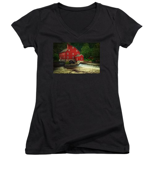 The Old Red Mill Women's V-Neck