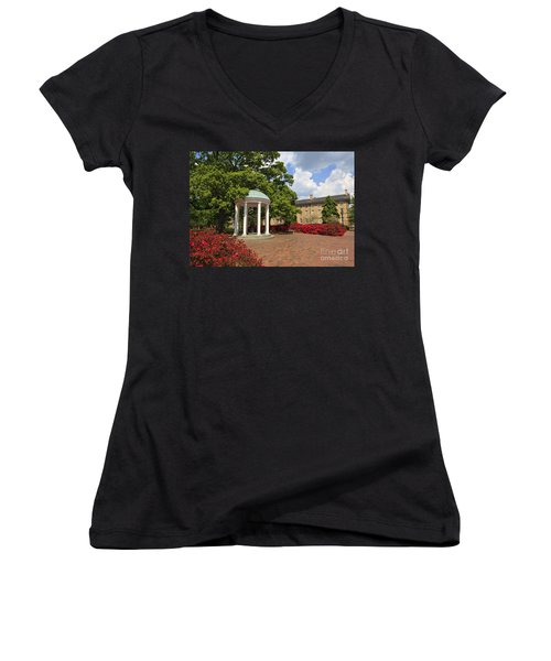 The Old Well At Chapel Hill Campus Women's V-Neck (Athletic Fit)