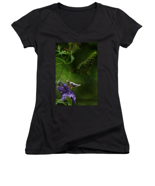 The Psyche Women's V-Neck (Athletic Fit)