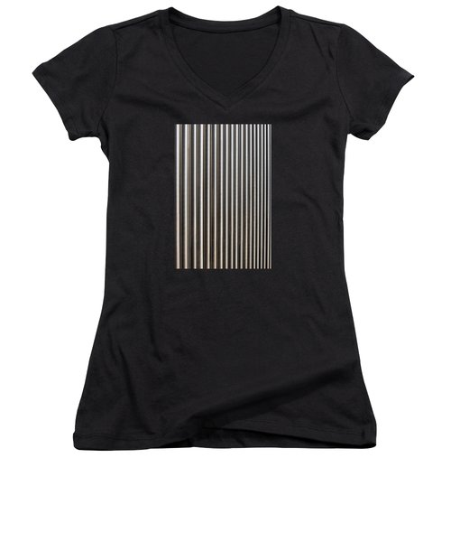 The Rack Women's V-Neck T-Shirt (Junior Cut) by Wendy Wilton