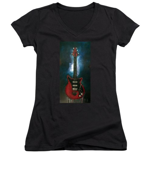 The Red Special Women's V-Neck (Athletic Fit)