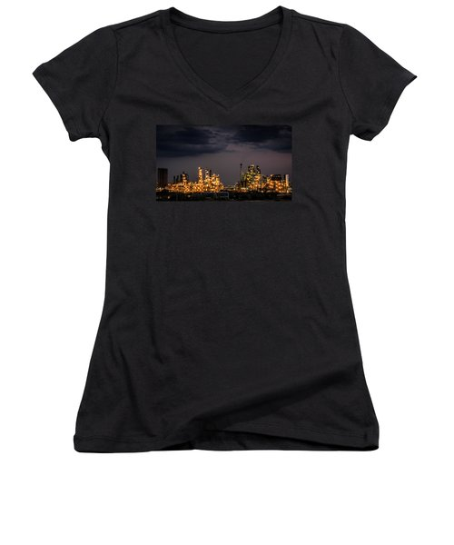 The Refinery Women's V-Neck (Athletic Fit)