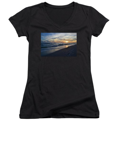 The Touch Of The Sea Women's V-Neck