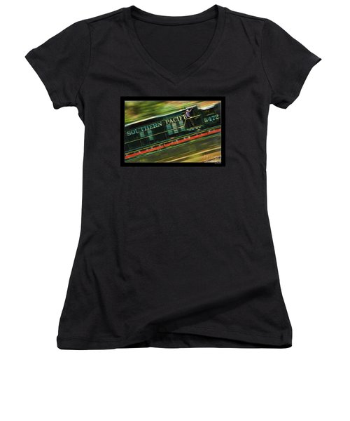 The Train Ride Women's V-Neck