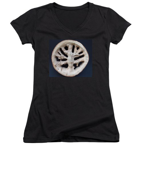 The Trunk Of Time Women's V-Neck (Athletic Fit)