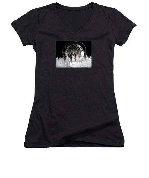 The Unisphere's 50th Anniversary Women's V-Neck T-Shirt