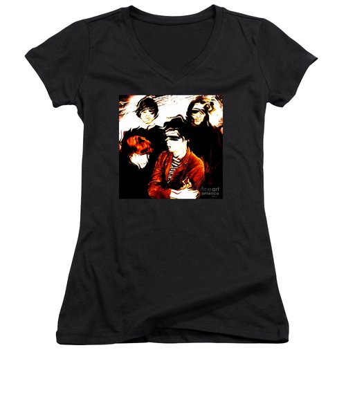 The Velvet Underground  Women's V-Neck T-Shirt