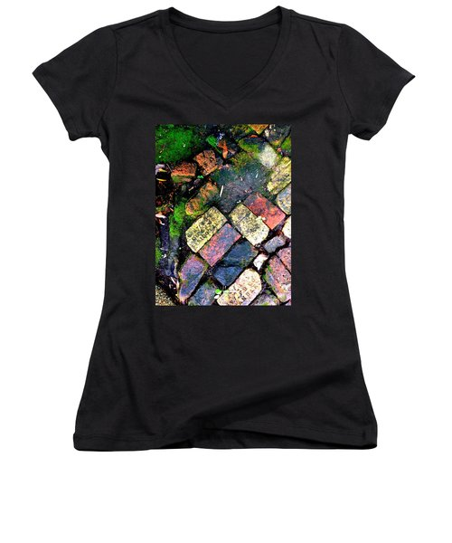 The Walk Home Women's V-Neck T-Shirt