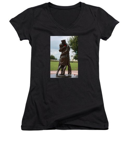 The Welcome Home Women's V-Neck T-Shirt