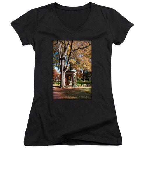 The Well - Davidson College Women's V-Neck