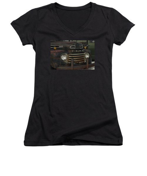 There Is Nothing Like An Old Ford Women's V-Neck (Athletic Fit)