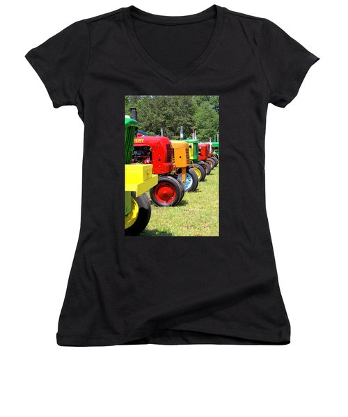They're At The Gate Women's V-Neck T-Shirt