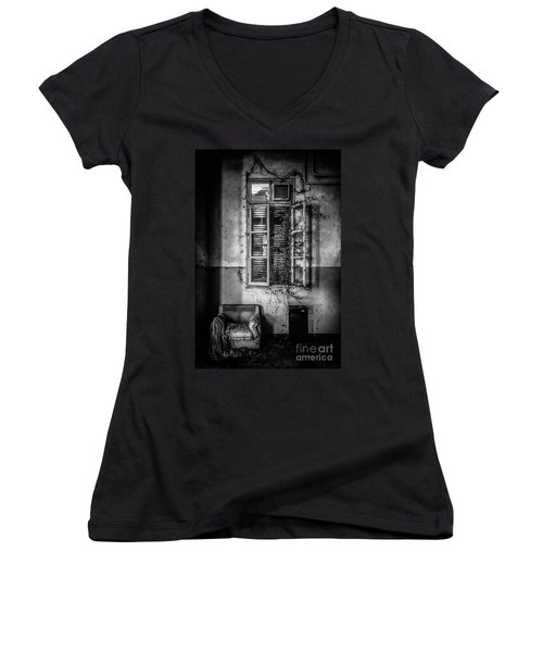 This Is The Way Step Inside II Women's V-Neck T-Shirt