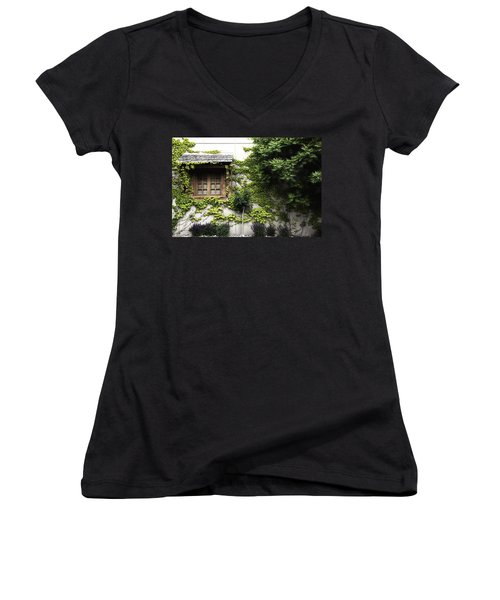 This Side Of The Window In Colour Women's V-Neck