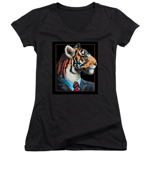 Tigerman Women's V-Neck