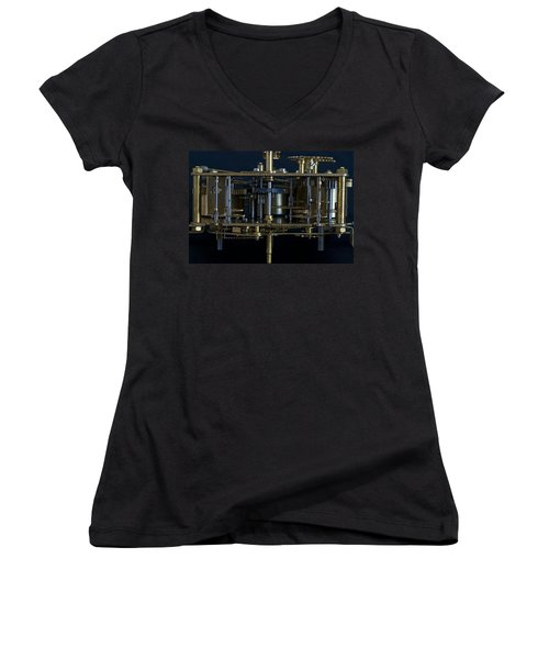 Time Machine Women's V-Neck T-Shirt
