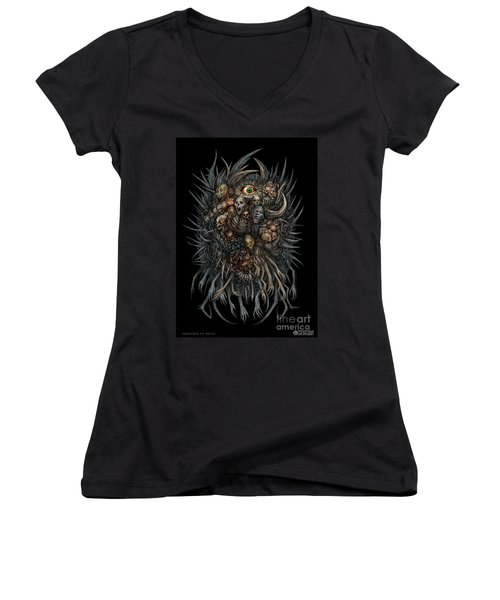 Together We Decay Women's V-Neck