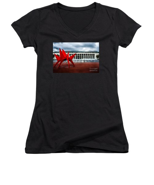 Toledo Museum Women's V-Neck (Athletic Fit)