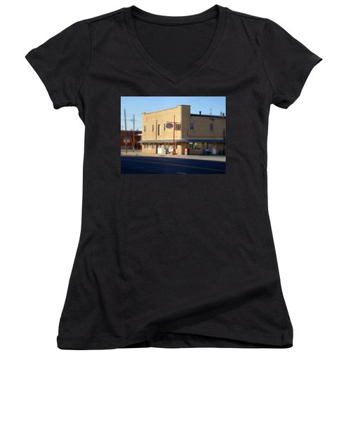 Tony's Ice Cream Women's V-Neck (Athletic Fit)