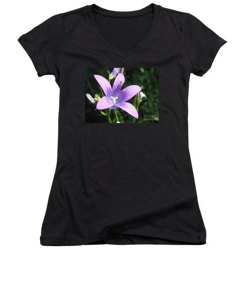 Touchdown  Women's V-Neck T-Shirt