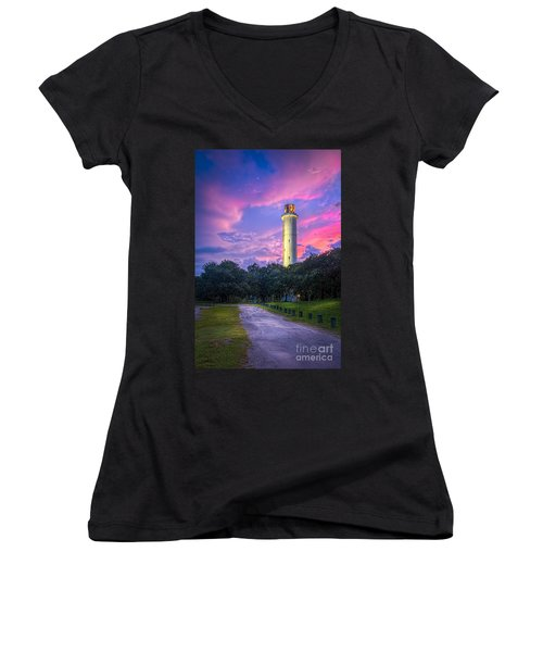 Tower In Sulfur Springs Women's V-Neck T-Shirt