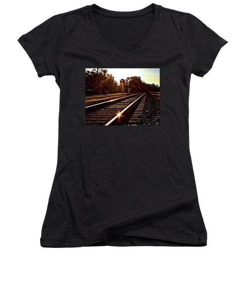 Traintastic Women's V-Neck