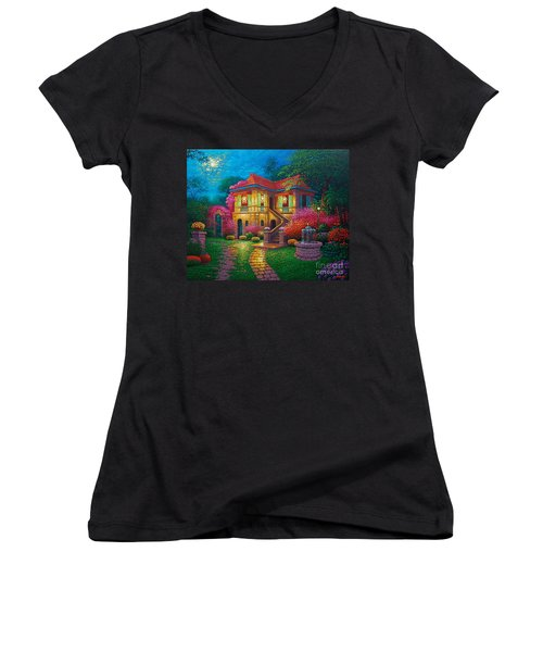 Tres Reyes Magos Women's V-Neck (Athletic Fit)