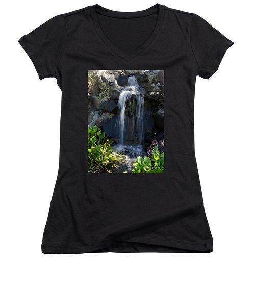Tropical Waterfall  Women's V-Neck