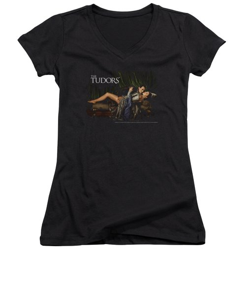 Tudors - The King And His Queen Women's V-Neck (Athletic Fit)