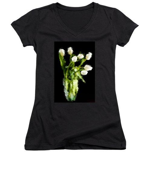 Tulip Impressions Vii Women's V-Neck