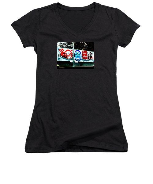 Twilight In Forks Wa 6 Women's V-Neck T-Shirt