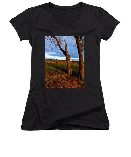 Twisted Tree Women's V-Neck (Athletic Fit)