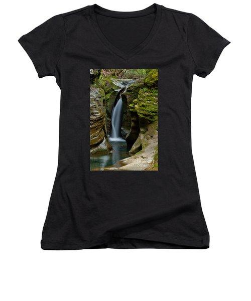 Un-named Falls Women's V-Neck T-Shirt