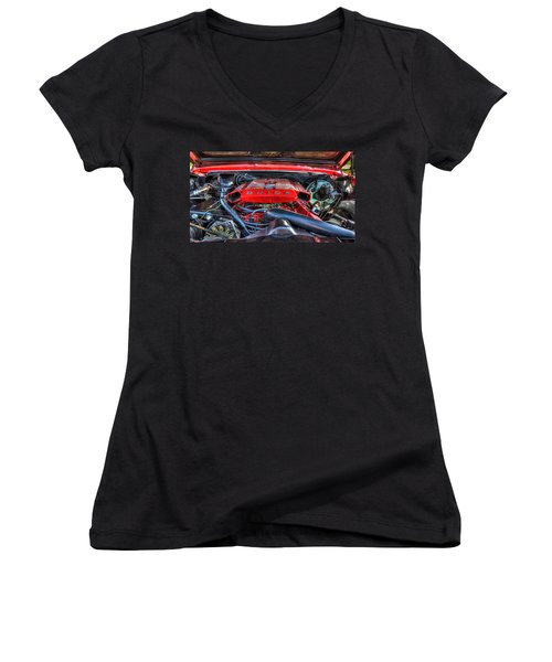 Under The Hood Women's V-Neck (Athletic Fit)