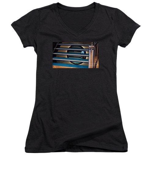 Under The Stairs Women's V-Neck T-Shirt