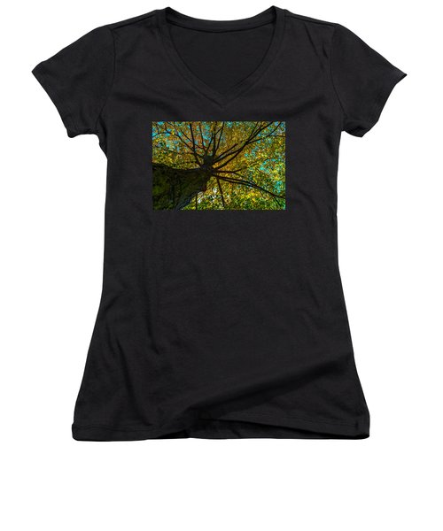 Under The Tree S Skirt Women's V-Neck