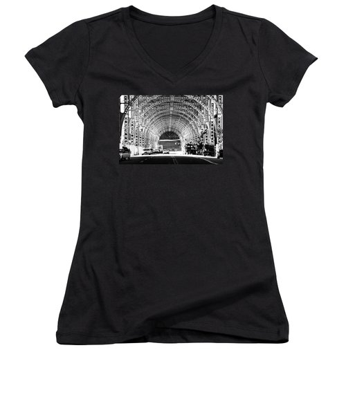 Under The West Side Highway Women's V-Neck