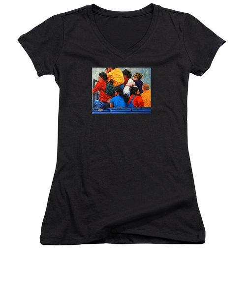 United Women's V-Neck T-Shirt