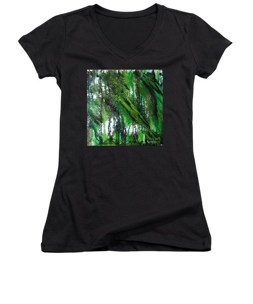 Forest Of Duars Women's V-Neck
